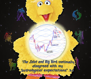 The Idiot and Big Bird disagreed with astrological expectations - Randall Ashbourne