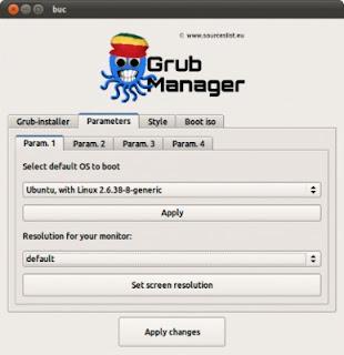 SuperBootManager Konfigurasi Boot Loader (Grub/Burg)