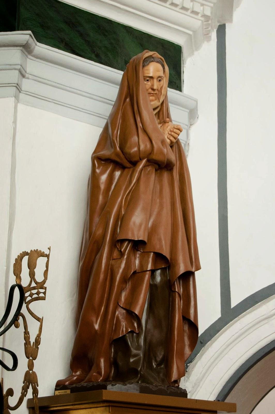 Santa Ana Penáguila Alicante Arturo Serra escultura 3