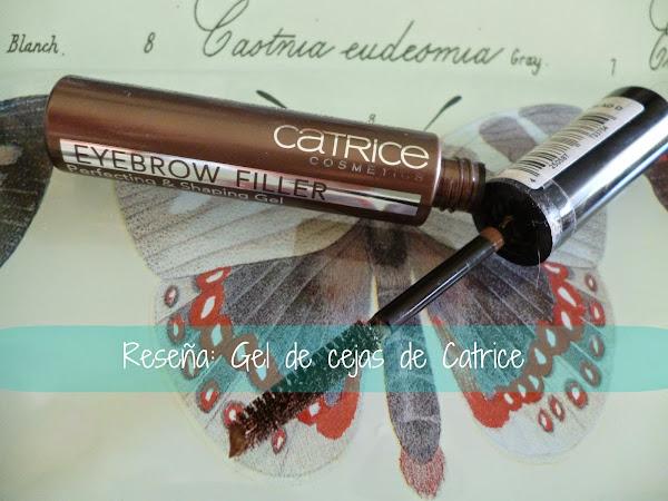 Reseña: Gel de Cejas (eyebrow filler) de Catrice