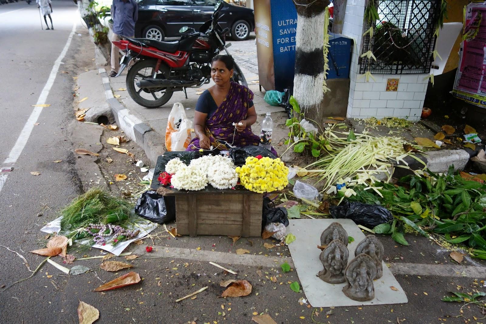 Ganesh chaturthi flowers may flower blog - Chennai Holidays Ganesh Chaturthi