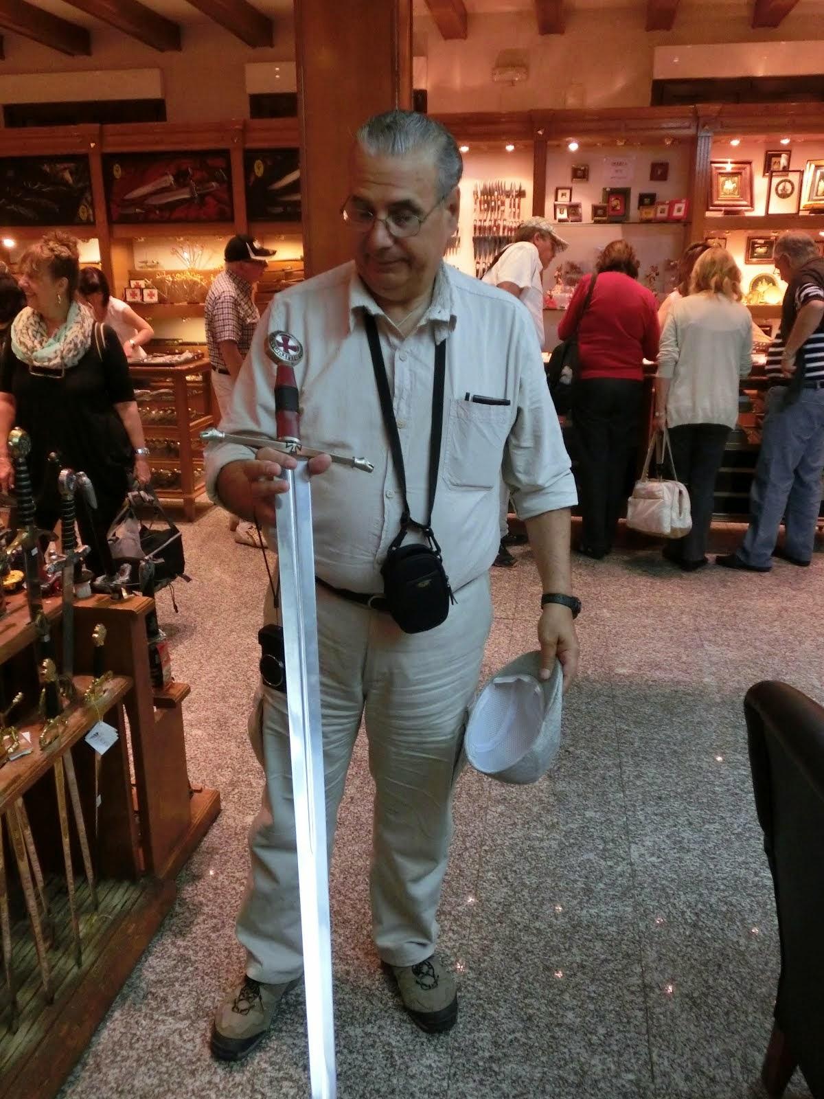 Con espada Templaria (Toledo)