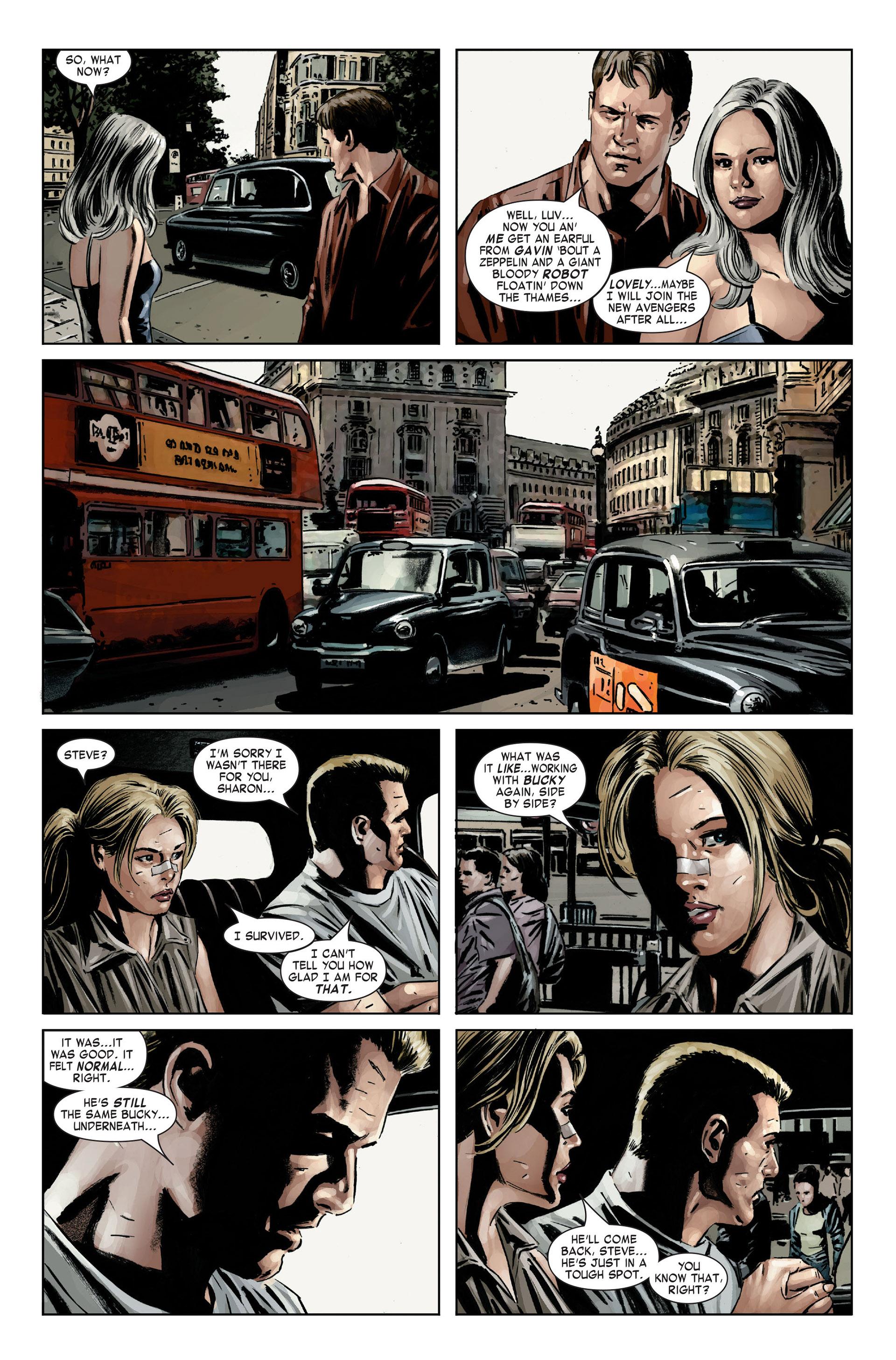 Captain America (2005) Issue #21 #21 - English 20