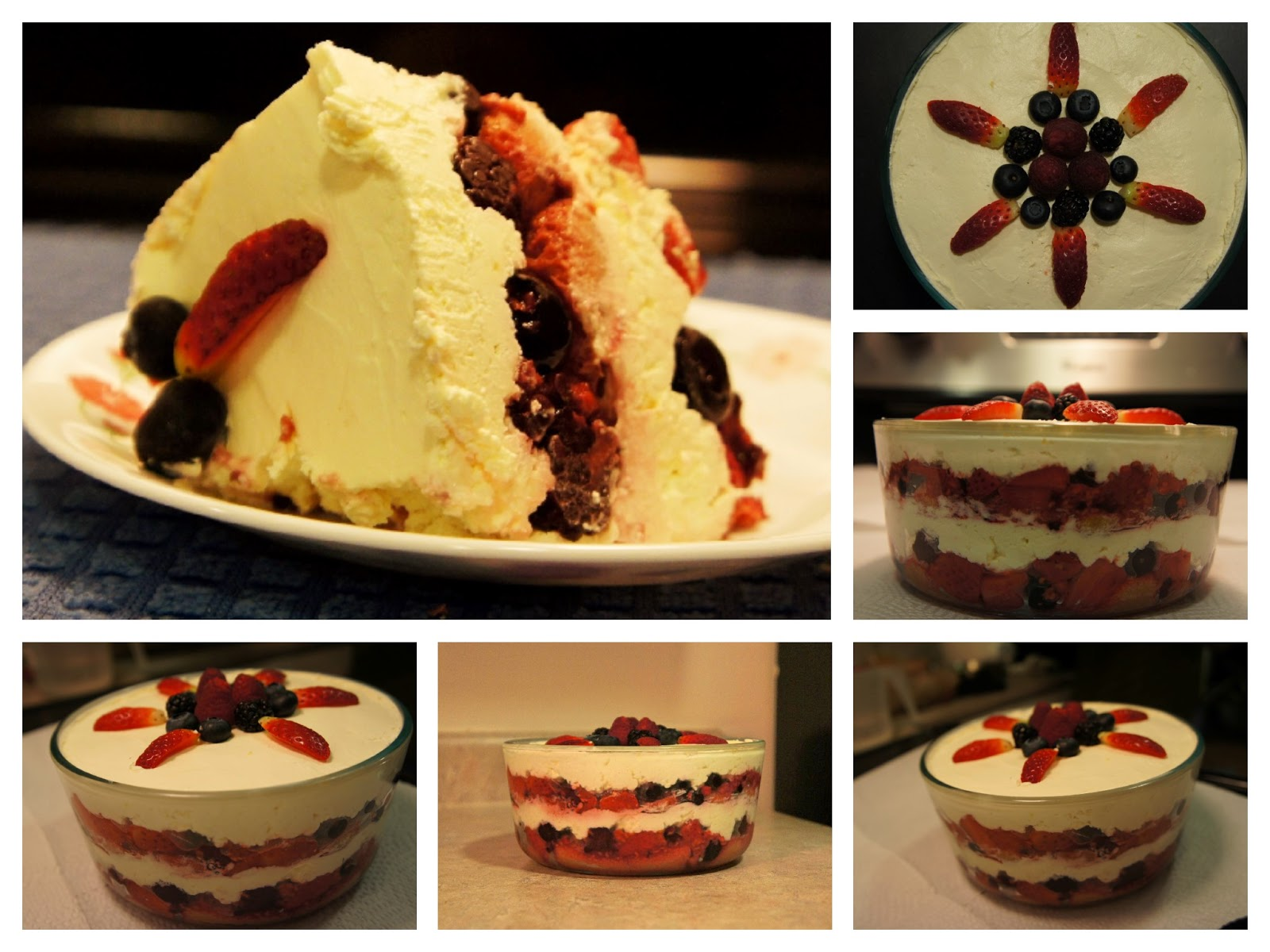 Just Homemade: Simple Mixed Berry Tiramisu