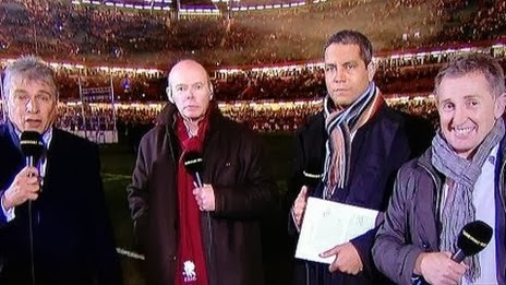 Jonathan Davies, Jiffy, Jeremy guscott, Clive Woodward, John Inverdale, Millennium Stadium, Six Nations, rugby, Champions