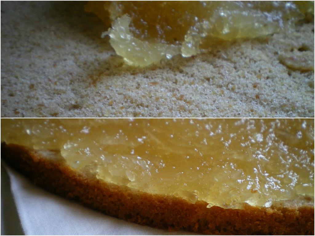 Torta compostelana con cidra (Relleno de cidra)