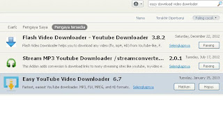 Cara Mendownload Video Youtube dengan browser firefox