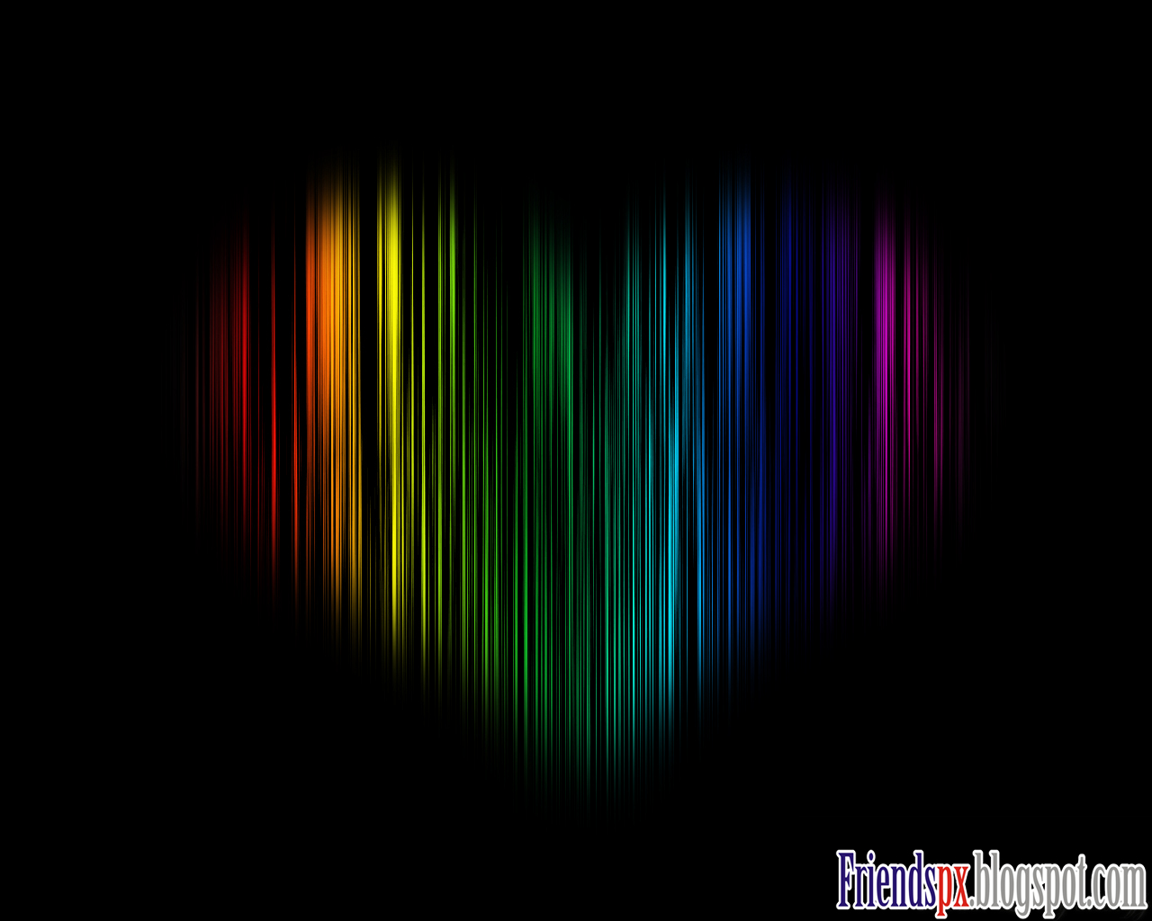 Friendspx: Atomic Colorful Love