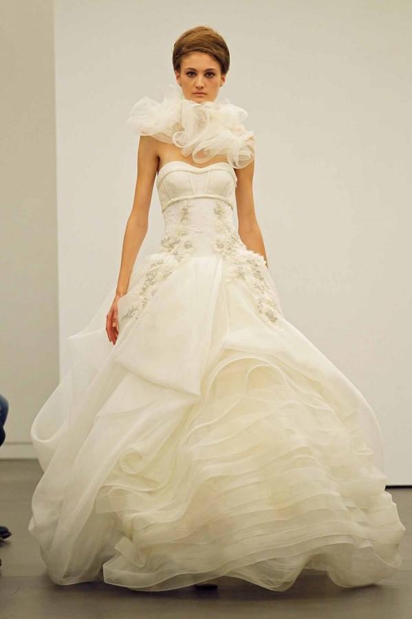 vera wang 2013 fall winter wedding dresses