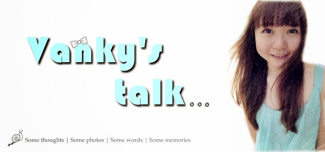 Vanky's talk ❣