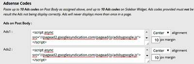 memasang iklan di wordpress menggunakan quick adsense