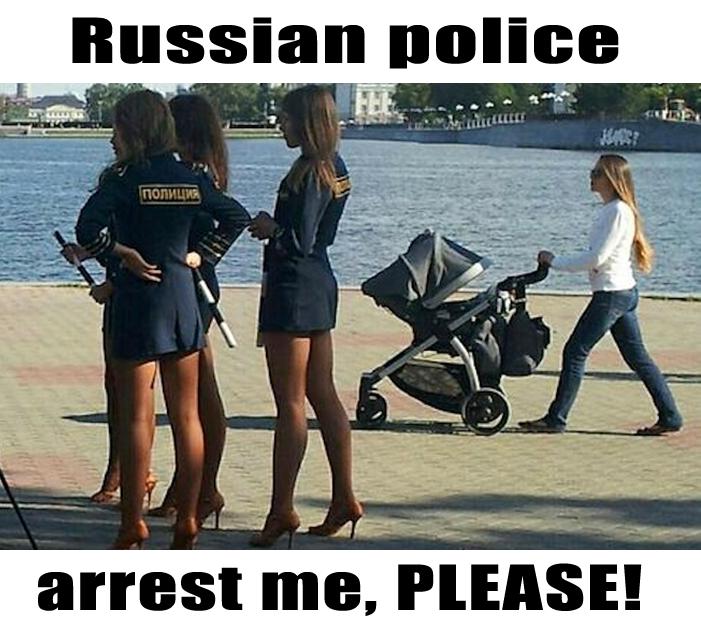 Governo vai lançar o programa Mais Polícia Feminina Russa  nas ruas do Brasil