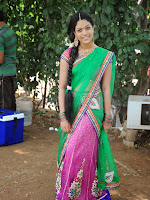 Alochinchandi Heorine Anjali Rao in Half saree-cover-photo