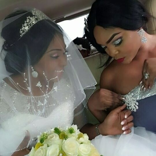 Lilian esoro wedding day