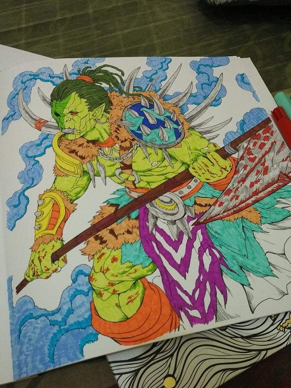 Mewarnai dengan Koi Coloring Brush Pen