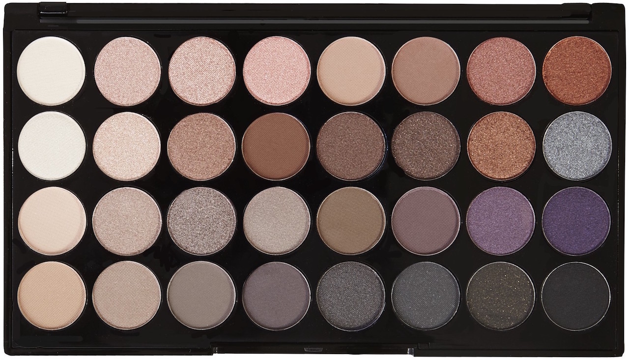 Makeup Revolution Ultra 32 Eyeshadow Palette in Affirmation | Review & Swatches