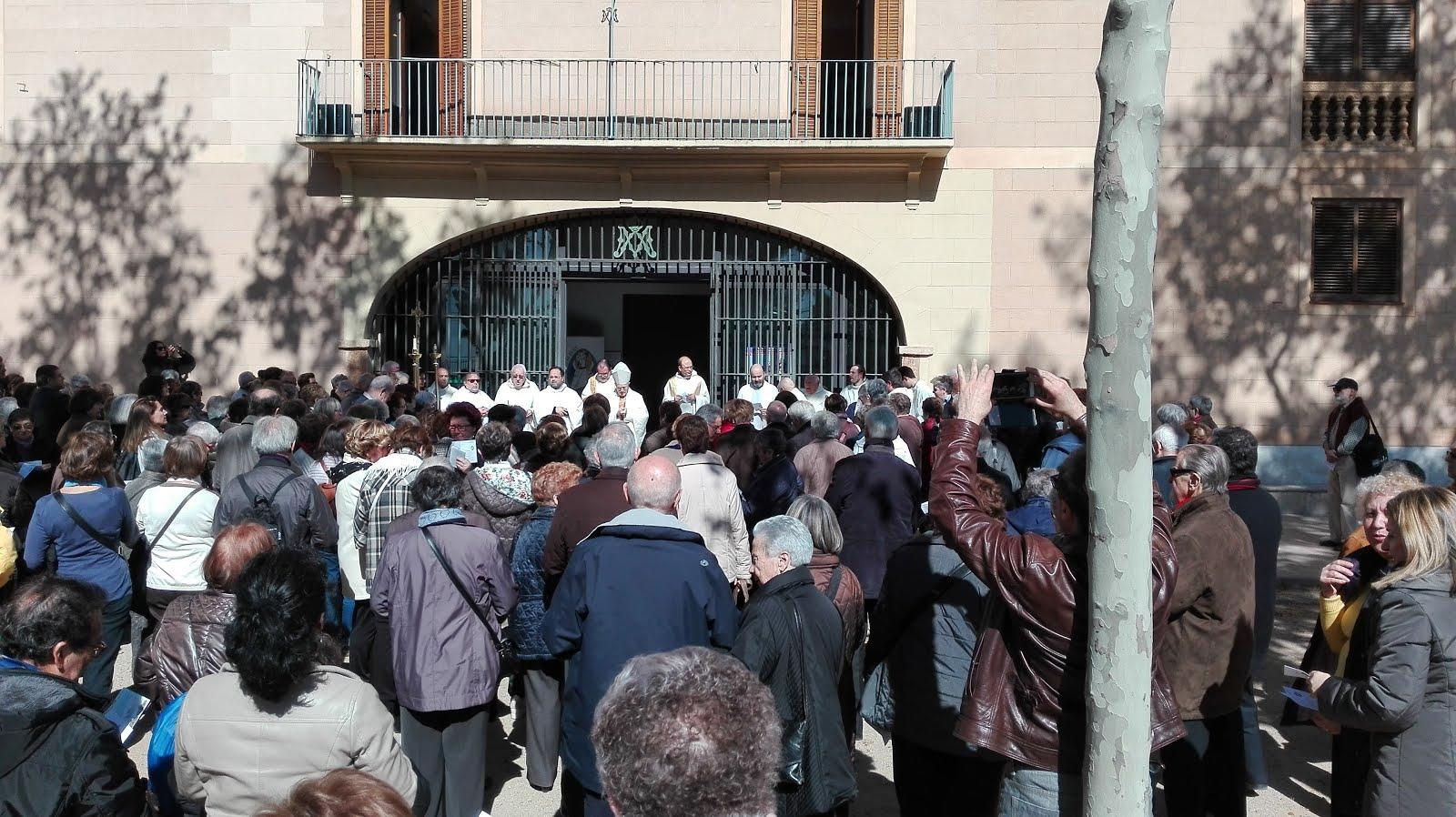 Peregrinació de Sant Feliu de Llobregat (9-4-2016)