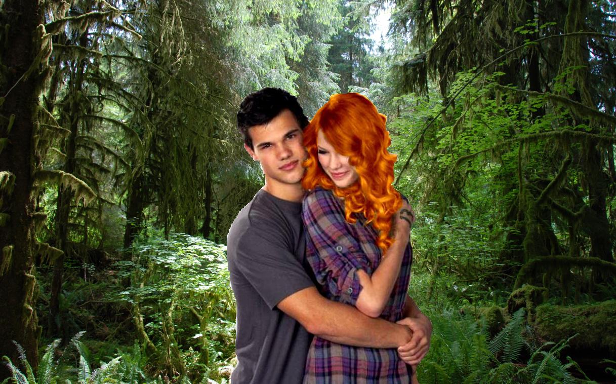 jacob and adult renesmee - photo #4