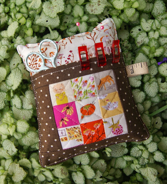 Heather Ross Deluxe Pincushion from Sew Organized for the Busy Girl by Heidi Staples