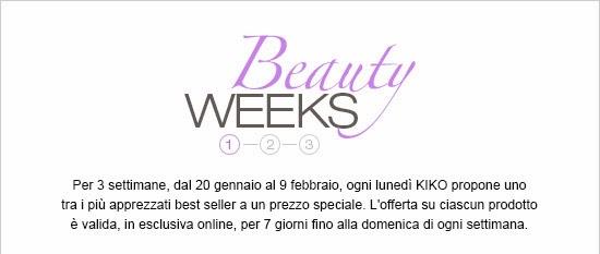 KIKO - Beauty Weeks