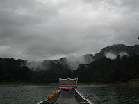 khao sok, nationalpark, cheow lan lake, khao lak land discovery, khao lak, jungle adventure, limestone mountains, weather, longtailboat