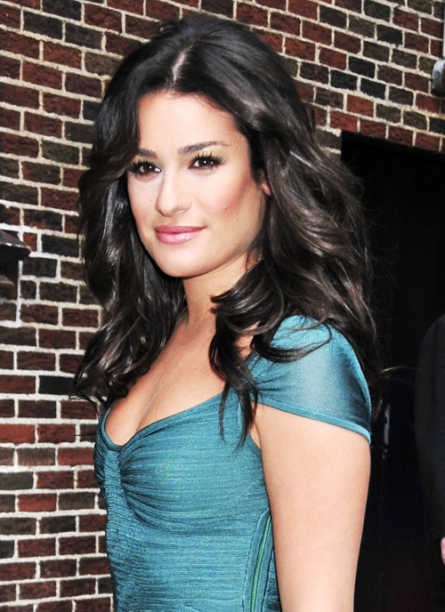 Lea Michele Hairstyles 6