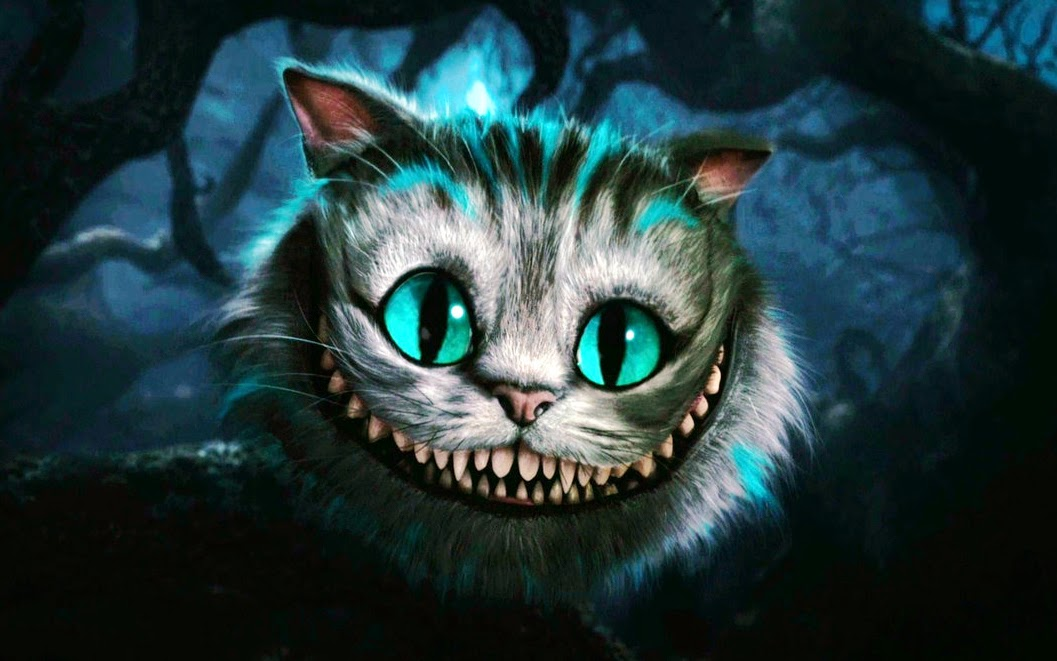 cheshire cat in the Disney's film