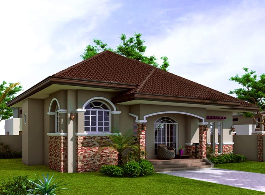 Desain Rumah Klasik Minimalis Terbaru Contoh Gambar