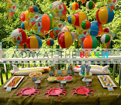 A Day At The Beach Party Table