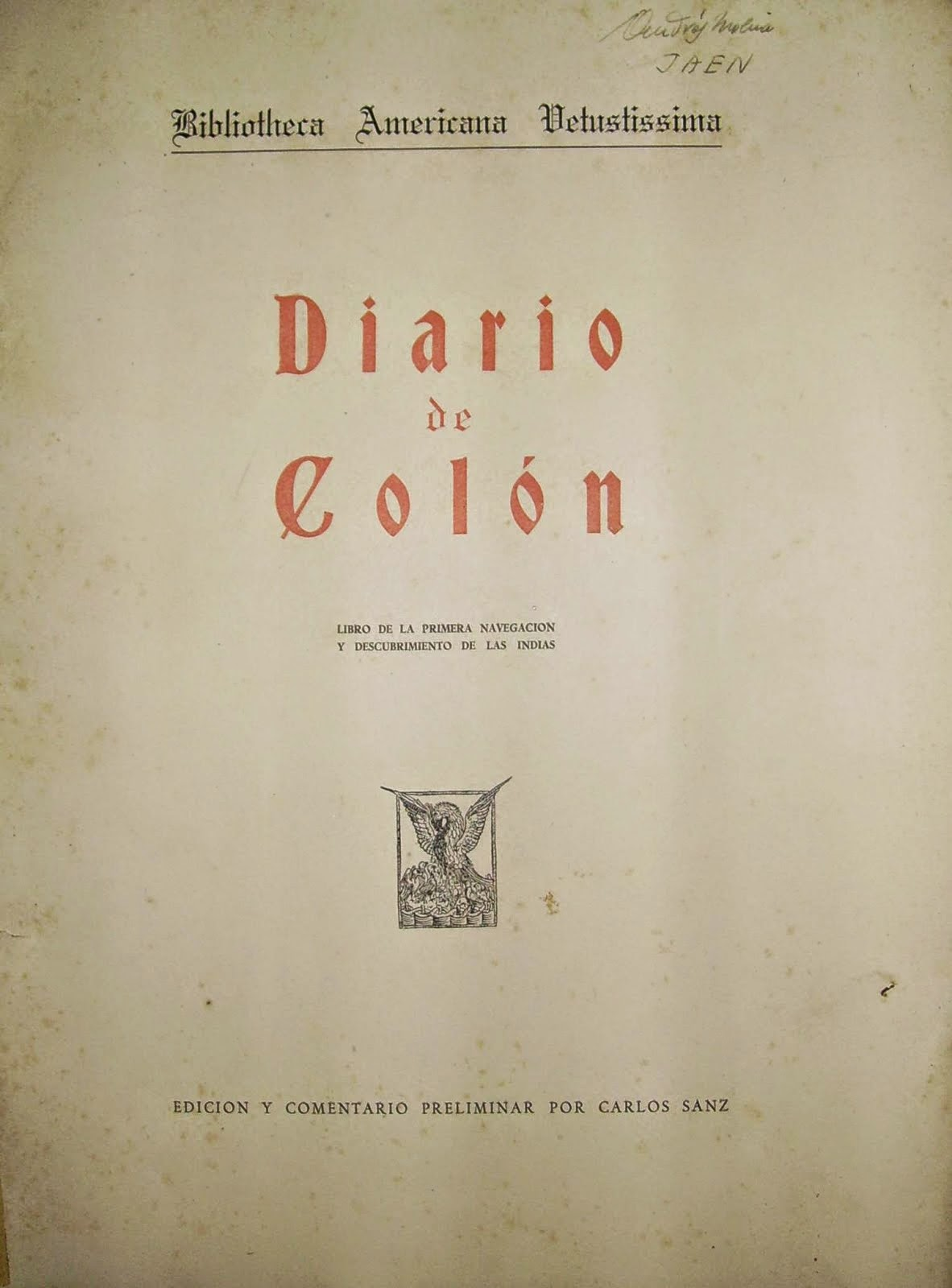 DIARIO DE COLÓN