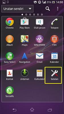 Mengubah Sinyal Edge Menjadi 3G Permanen di Android