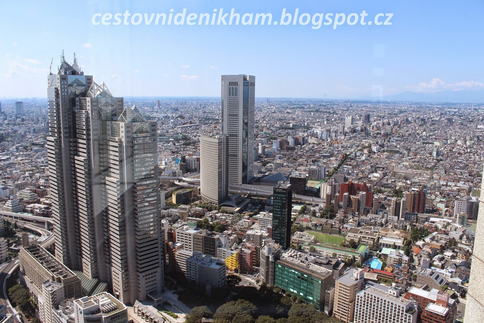 view of Tokyo from Goverment Building