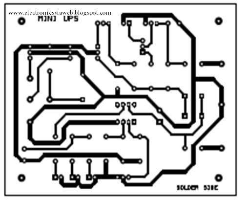 mini ups system