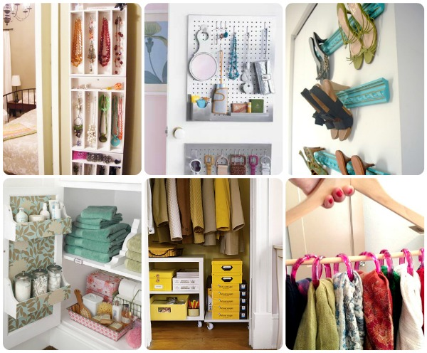 Closet organization ideas Diy wardrobe organising ideas