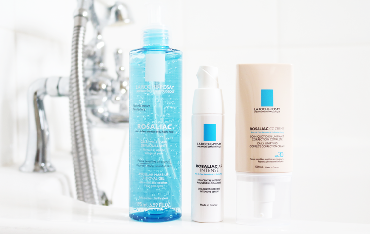La Roche-Posay Rosaliac Micellar Make-Up Removal Gel, AR Intense Serum & CC Creme review