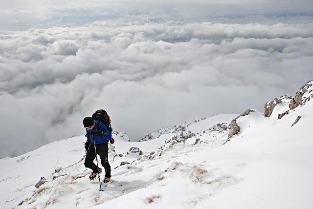 Cresta Sud Ovest Monte Velino
