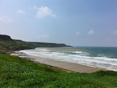 Wide grassland plains at Penghu island