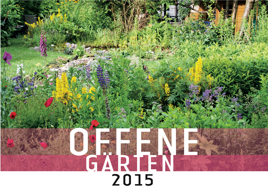 Ein Schweizer Garten: Offener Garten 2015