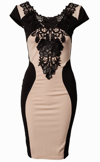 http://www.sheinside.com/Apricot-PU-Leather-Contrast-Lace-Embroidery-Bodycon-Dress-p-162086-cat-1727.html?aff_id=1238