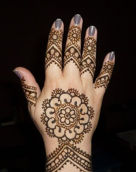 Mehndi Designs Hands Images : Simple arabic mehndi designs for hands guide