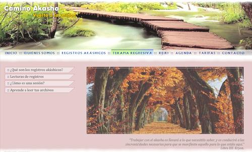 página web de Camino Akasha: registros akáshicos, reiki, vidas anteriores, terapias regresiva, talleres de registros akáshicos, reencarnación, lecturas de archivos y registros...