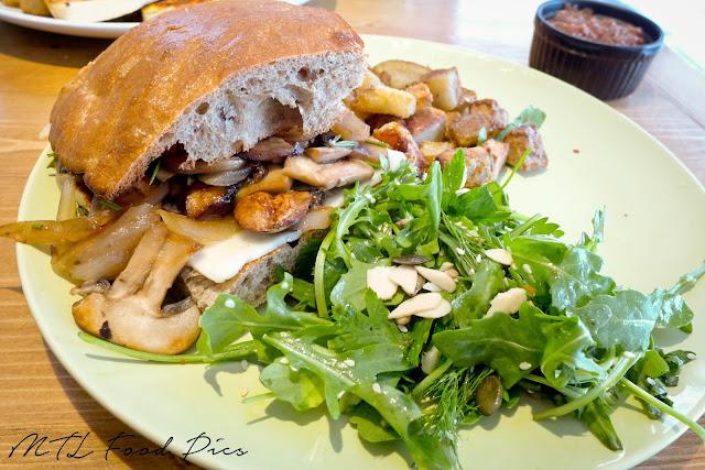 Mushroom Melt - Restaurant Downtown Ottawa