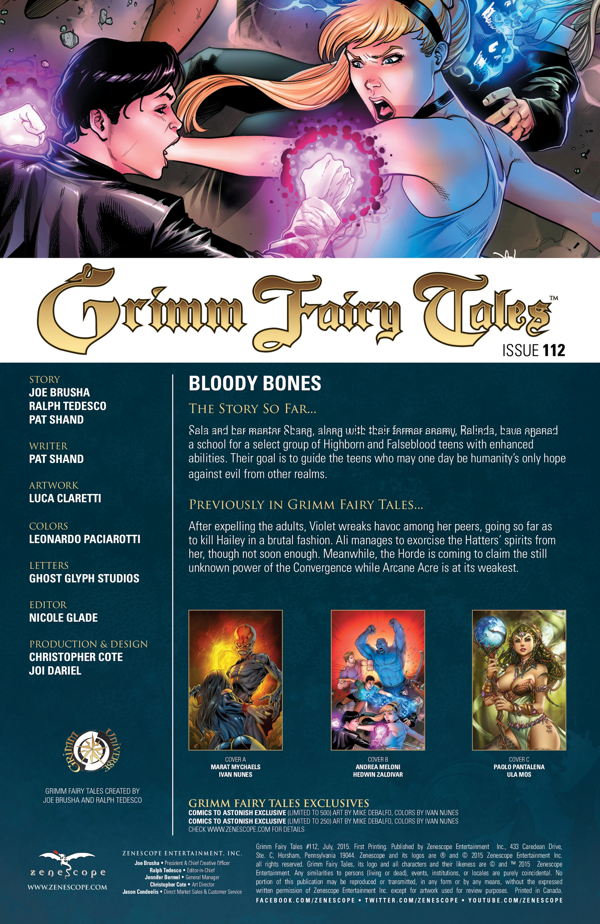 Grimm Fairy Tales (2005) Issue #112 #115 - English 2