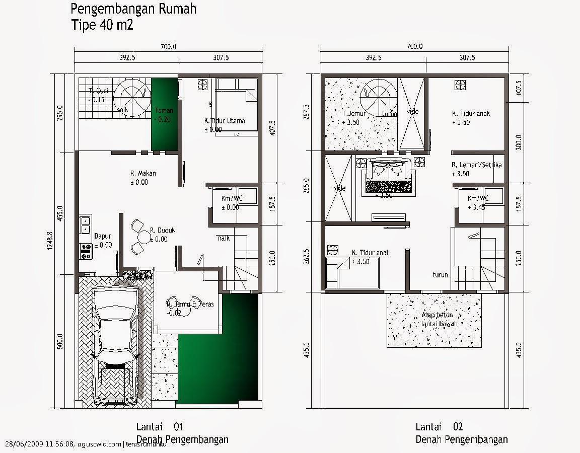 Desain Rumah Minimalis Ukuran 7×12 | Contoh Disain rumah minimalis ...