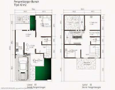 rumah minimalis ukuran 7×12