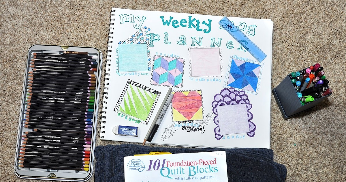 365 Days Of Diy Weekly Blog Planner Finished