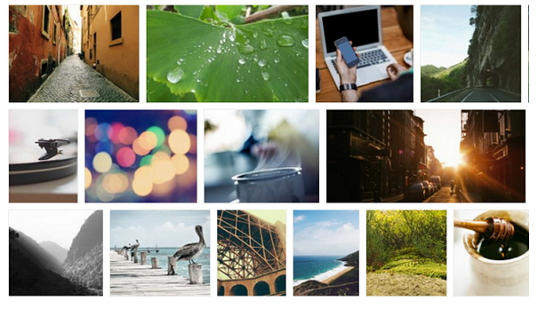 FlexImages - jQuery plugin for fluid galleries like Google Images.