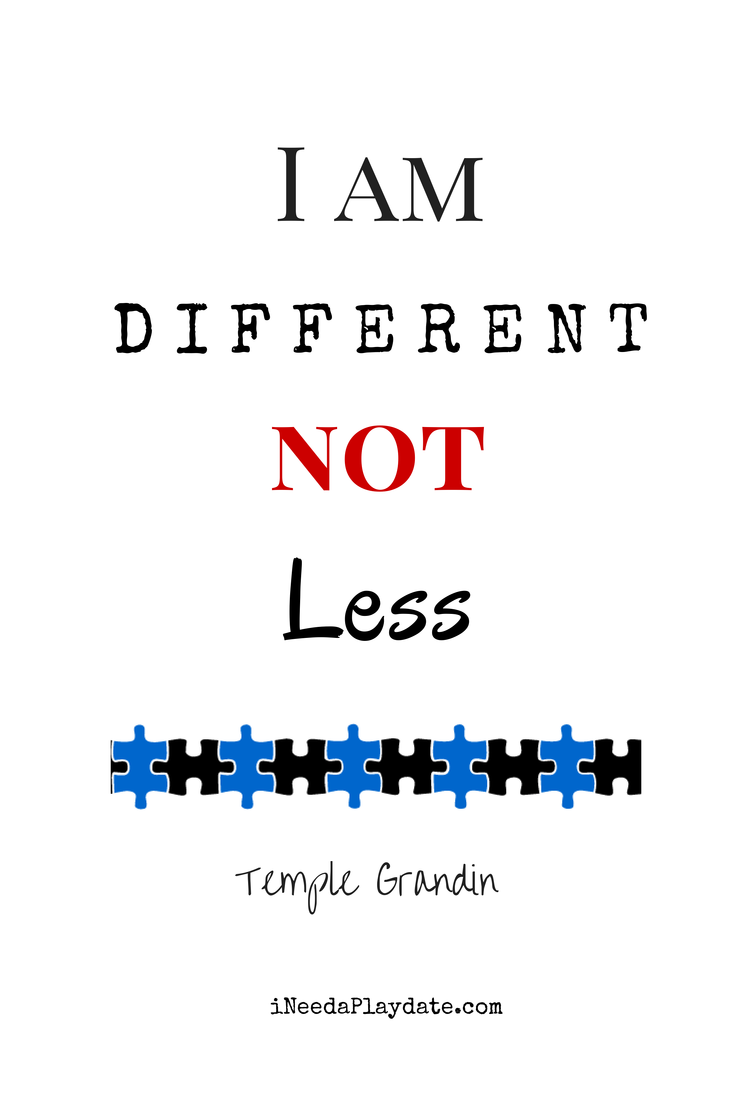 I am Different NOT Less - Temple Grandin | Why I Probably Won't Tell My Kid He Has Autism
