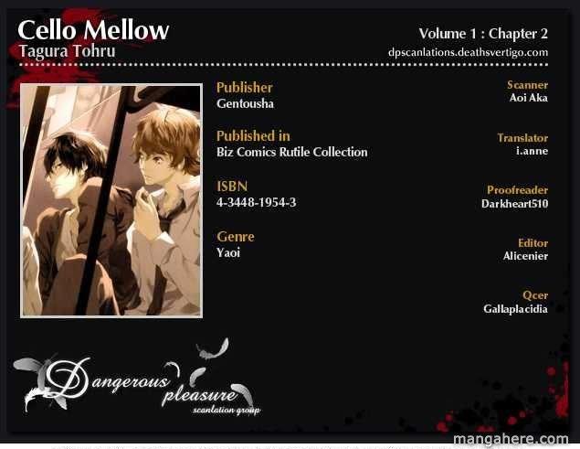 Cello Mellow: Chapter 2: - Tin anh