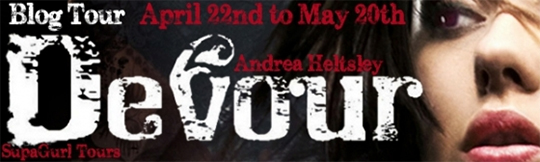 GIVEAWAY and REVIEW: Devour by Andrea Heltsley